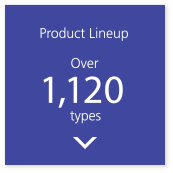 Product Lineup Over 950 types