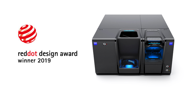 "Glory Cash Recycling System, CI-5 awarded  the design prize ""Red Dot Design Award 2019"""