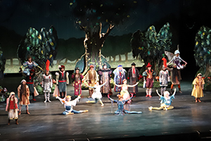 "Scene of musical ""Children in the Storm"""