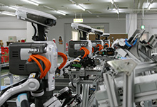 NEXTAGE-based automated assembly line