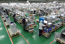 GLORY (PHILIPPINES), INC. factory production line