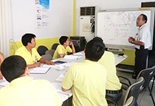 Technical guidance at Philippines