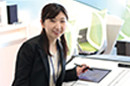 Chiaki Seya, Solution Business Promotion  Department, Finance Market Sales Division, Domestic Business Headquarters
