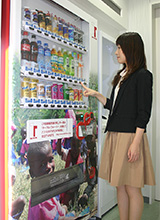 TFT-compliant beverage vending machine