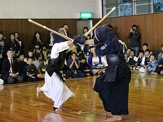 Kendo Meet for elementary school students