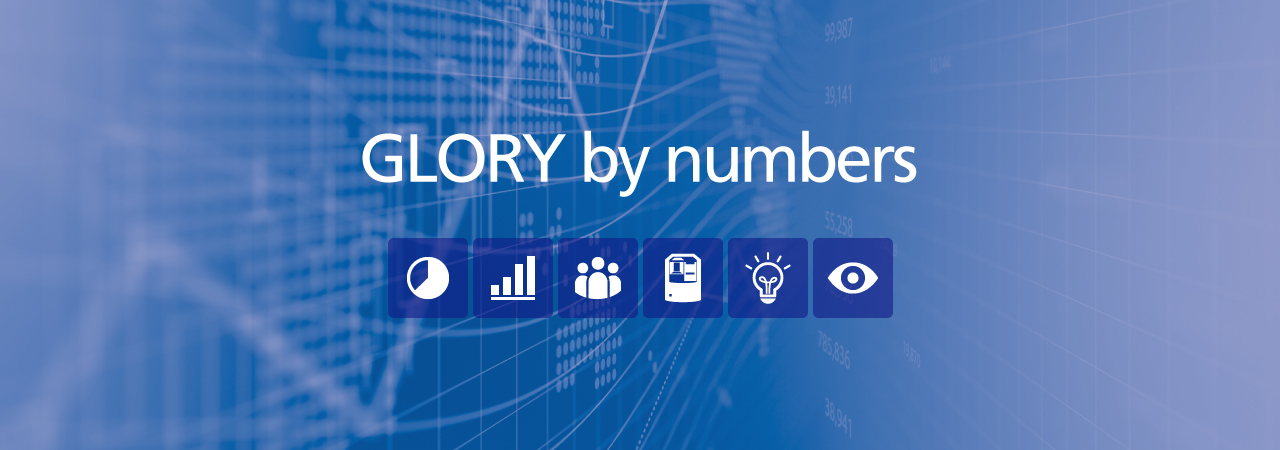 GLORY by numbers